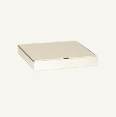 Коробка для пиццы и пирога 410*410*44 мм Т23В Белый № 2102