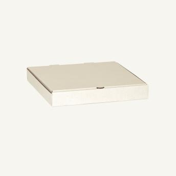 Коробка для пиццы и пирога 410*410*44 мм Т23В Белый