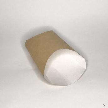 Коробка д/картоф фри крафт 50*126*135 мм   № 10105019