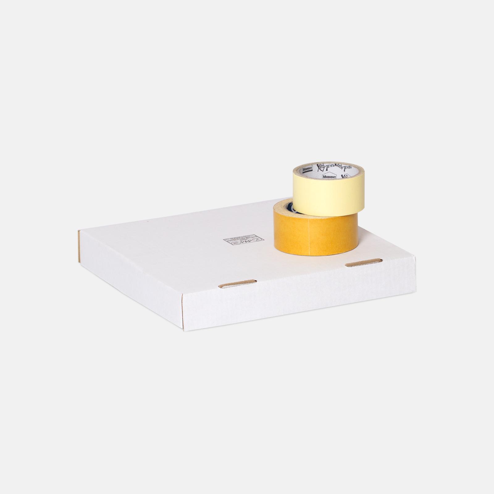 Коробка для пиццы и пирога 318*318*44 мм Т23В Белый №2100