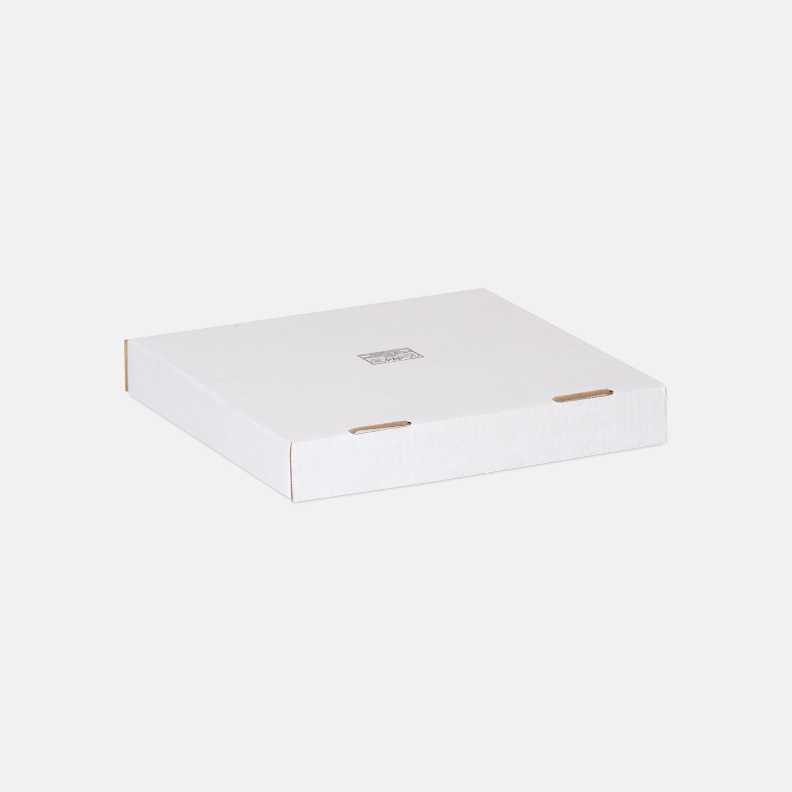Коробка для пиццы и пирога 318*318*44 мм Т23В Белый № 2100
