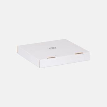 Коробка беленая для пиццы и пирога 318*318*44 мм Т23В Белый