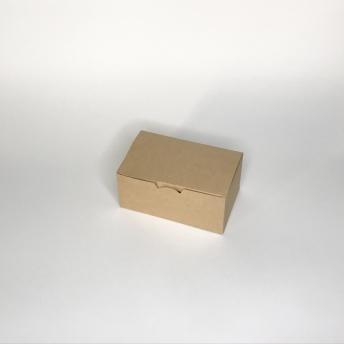 Коробка ланч-бокс крафт 150х100х85мм 150*100*85 мм   № 10105014