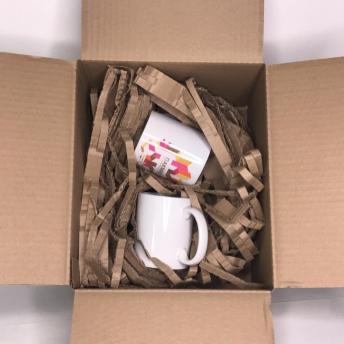 Наполнитель для посылок бумажный Т23В Бурый