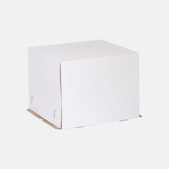 Коробка для торта 450*450*350 мм Т23В Белый